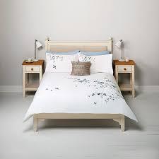 Buy John Lewis Eden Standard Pillowcase Blue Online At Johnlewis