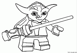 Yoda Pumpkin Stencils Free Printable by Star Wars Ewok Coloring Pages Kids Coloring