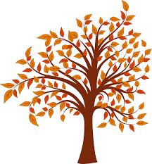 Autumn Tree Clip Art 5