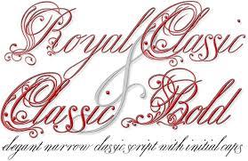 Elegant Script Fonts from MyFonts