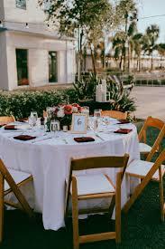 Outdoor Garden Lawn Wedding Reception Decor, Round Table, White ...