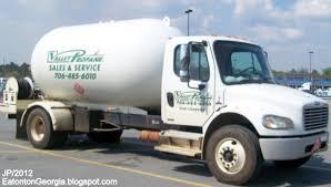 100 Propane Trucks EATONTON GEORGIA Putnam Co Restaurant DrHospital Bank Church