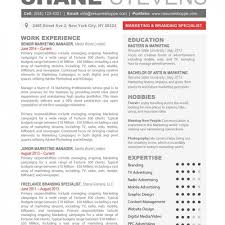 Creative Marketing Resume Templates Free Modern Onwebioinnovateco