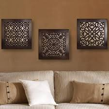 Marvellous Design Wall Art Set Of 3 In Conjunction With Astonishing Sets 15 For Silverware