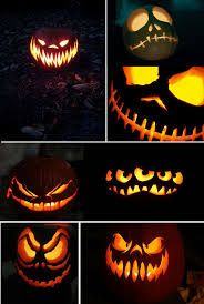 Pumpkin Faces To Carve Scary by Best 25 Scary Pumpkin Faces Ideas On Pinterest Scary Pumpkin