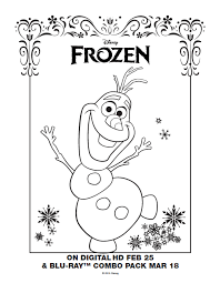 Print Coloring Disney Frozen Printable Pages On 1000 Images About Pinterest