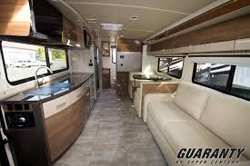Interior Of A Class C Motorhome