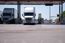 Modern Big Rigs White Semi Trucks Are At A Filling Station With ... How To Choose A Commercial Truck Cap For Your Vehicle Dimeions Of Carport Metal Carport Suv Truck Modern Big Rigs White Semi Trucks Are At A Filling Station With Canopy Lift Youtube Hard Bed Cover Great Wall Wingle 5 Pickup Shop 2011 Ram 1500 Quad Cab Power Rear Window Aux Port Paint Matching Caps Custom Al Are Fiberglass World Amazoncom Bestop 7630435 Black Diamond Supertop Bed Tool Inspirational Fniture New Gladiator Pickup Truck Bed Tent Camping Outdoor Canopy Camper