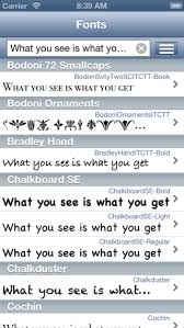 Fonts for iPhone AppEngines