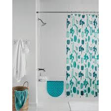 Walmart Bathroom Curtains Sets by Mainstays 14 Pc Cactus Shower Curtain Set Walmart Com