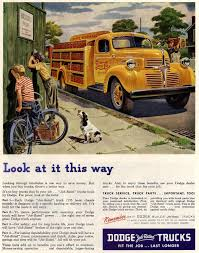 100 Hauling Jobs For Pickup Trucks Vintage US Yellow Colour Truck Ad Truck Ads Dodge Trucks