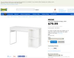 ikea micke desk with integrated storage white ikea