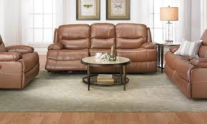 Bobs Furniture Leather Sofa And Loveseat by Living Room Brown Microfiber Reclining Sofa And Loveseat Also