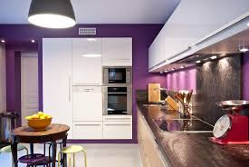 cuisine mur framboise couleur mur pour cuisine wunderbar murs framboise blanche creme