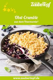 obst crumble