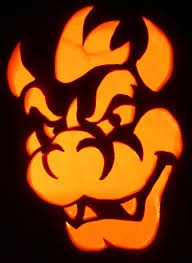 Mario Pumpkin Carving Templates Free by Bowser U2022 Decor Holidays U2022 Pinterest Bowser Halloween