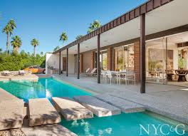 100 Palm Springs Architects An Architect And An Art Director Find The House Of Their Dreams In