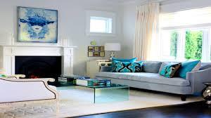 apartments glamorous style living room turquoise designrulz gray