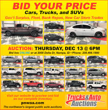 100 Car And Truck Auctions Bid Your Price S Auto Nampa ID