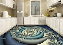 3D Floor Murals With Epoxy Flooring Paint For Kitchen Awesome Collection Of Painting Design Images Self Leveling