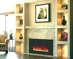 Electric Fireplaces For How To Install Fireplace Average Cost In Wall Electri