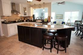 remodeled kitchen with custom cabinets granite countertops and