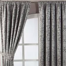 Thermal Lined Curtains Australia by Just Contempo Thermal Jacquard Pencil Pleat Curtains 66 X 72