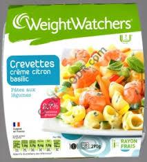 plat cuisiné weight watchers weight watchers plats cuisinés au rayon frais remboursé