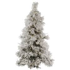 Flocked Downswept Christmas Trees by Cashmere Pine Christmas Tree Christmas Lights Decoration