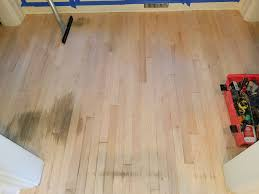 Laminate Flooring Bubbles Due To Water by Repairing Water Damaged Hardwood Floors Mr Floor Chicago