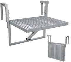interbuild real wood stockholm balcony table de