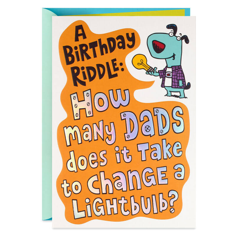 Dad and Tools Pop-Up Birthday Card