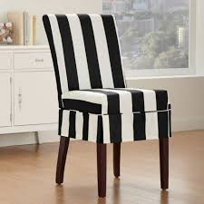 Leather Dining Chair Covers Sure Fit Stretch Leather Wrought Iron ... Parson Chair Slipcovers Design Homesfeed Fniture Decorating Interesting Walmart For Covers Ding Chairs Armchair Covers Set Beautiful Room Argos Pott Charming Habitat Why I Love My White Slipcovered House Full Of Summer Cisco Brothers Parsons Denim Cotton Feather Down Slip Cover Patterns Tufted Home Target Image Australia Counter Height Stool Kitchen Slipcover Elegant For Stylish Look