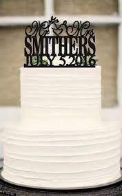 Silhouette Wedding Cake Topper Funny By Customorderhouse