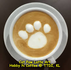 Cats Paw Latte Art