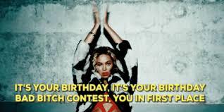 Set Beyonce Happy birthday Beyonc GIF by Goldshaper Find & Download on GIFER