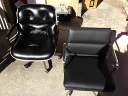 Dwr Eames Soft Pad Management Chair by Fortysomething Geek Two Of The Nicest Mcm Executive Office Chairs