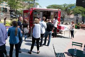 Food Trucks Back In Detroit's Cadillac Square For Lunch