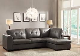 Leather Sectional Living Room Ideas by Living Room Grey Leather Sectional With Brown Carpet And Standing