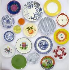 Kitchen Wall Decor Decorative Plates Modern Abstract Decor Dining
