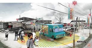 100 Food Trucks Houston SWA Drafts Masterplan For S Airline Improvement District