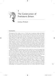PDF The Construction Of Prehistoric Britain