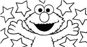 Free Online Elmo Coloring Pages Colouring Printable For Toddlers Cookies Baby