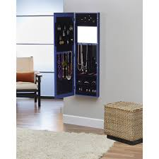 InnerSpace Over-the-Door/Wall-Hang/Mirrored Jewelry Armoire ... Innerspace Overthedowallhangmirrored Jewelry Armoire Over The Door With Mirror Hives And Honey Best 25 Jewelry Armoire Ideas On Pinterest Wall Hang Deluxe Walmartcom Home Decators Collection White Armoire50265410 The Hsn Haing Mirrored Full Cabinet Choice Image Doors Design Ideas Rustic With New Lighting For Over Door Abolishrmcom Halle Overstockcom