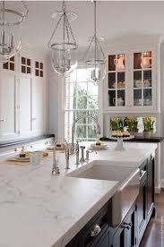 Kitchen Countertop Decorating Ideas Pinterest by Best 25 Marble Kitchen Countertops Ideas On Pinterest Marble