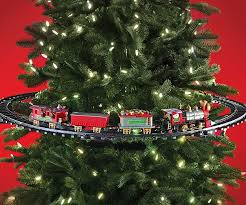 Tubular Light Bulb For Ceramic Christmas Tree by Tree Christmas Train