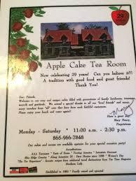 Apple Cake Tea Room Menu Menu for Apple Cake Tea Room Farragut