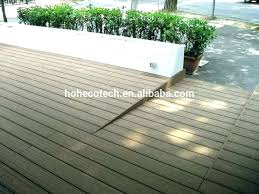 Deck Covering Materials Outdoor Floor Wood Interlocking Tiles