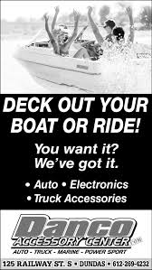 100 Truck Accessories Mn Deck Out Your Boat Or Ride Danco Accessory Center Dundas MN
