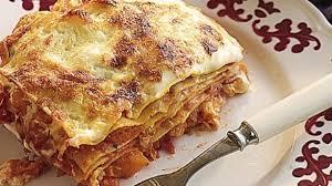 jeux de cuisine lasagne recette de cuisine d lasagnes au potiron lci